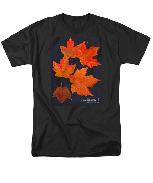 Maple Leaf Tag II Men's T-Shirt  (Regular Fit) by Joan Hartenstein