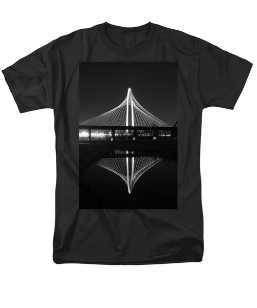 Margaret Hunt Hill Bridge Reflection Men's T-Shirt  (Regular Fit) by Jonathan Davison