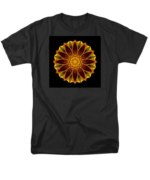 Marigold Flower Mandala Men's T-Shirt  (Regular Fit)