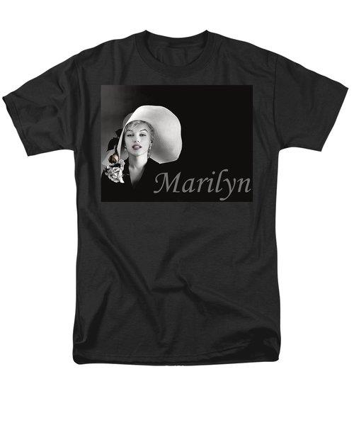 Marilyn Monroe Men's T-Shirt  (Regular Fit) by Gary Baird
