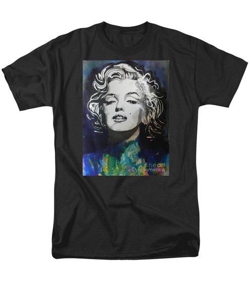 Marilyn Monroe..2 Men's T-Shirt  (Regular Fit) by Chrisann Ellis