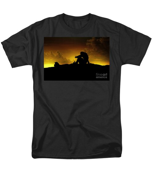 Marooned Pirate Men's T-Shirt  (Regular Fit) by Phil Cardamone
