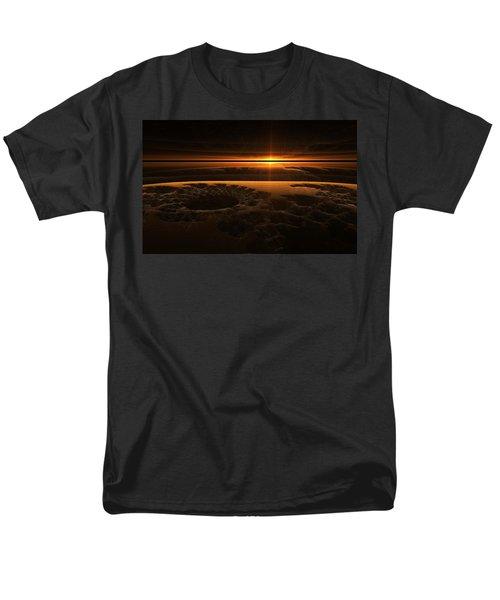 Marscape Men's T-Shirt  (Regular Fit) by GJ Blackman