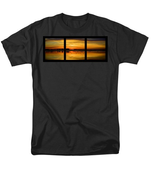 Marsh Rise Tiles 1-3 Men's T-Shirt  (Regular Fit) by Bonfire Photography
