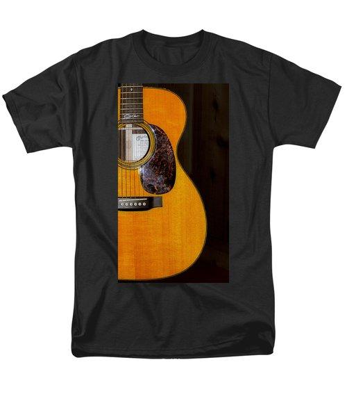 Martin Guitar  Men's T-Shirt  (Regular Fit) by Bill Cannon
