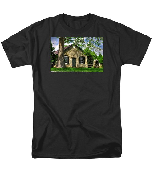 Maryland Country Churches - Fairview Chapel-1a Spring - Established 1847 Near New Market Maryland Men's T-Shirt  (Regular Fit) by Michael Mazaika