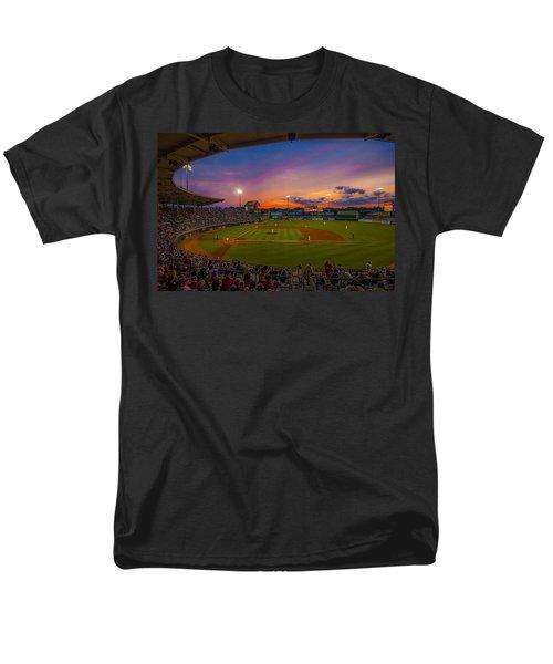 Mccoy Stadium Sunset Men's T-Shirt  (Regular Fit) by Tom Gort