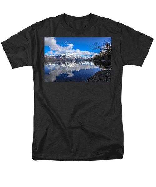 Mcdonald Reflecting Men's T-Shirt  (Regular Fit)
