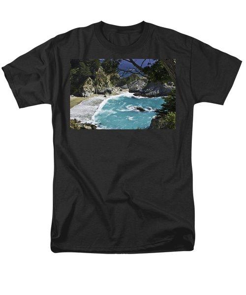 Mcway Falls - Big Sur Men's T-Shirt  (Regular Fit)