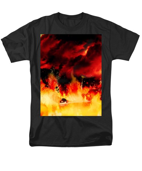 Meanwhile In Tartarus Men's T-Shirt  (Regular Fit) by Persephone Artworks