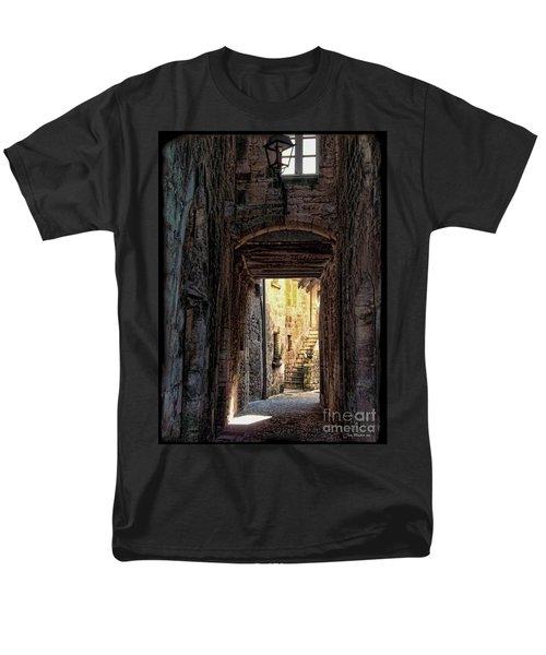 Medieval Alley Men's T-Shirt  (Regular Fit) by Joan  Minchak