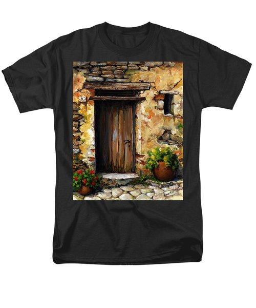 Mediterranean Portal Men's T-Shirt  (Regular Fit) by Emerico Imre Toth