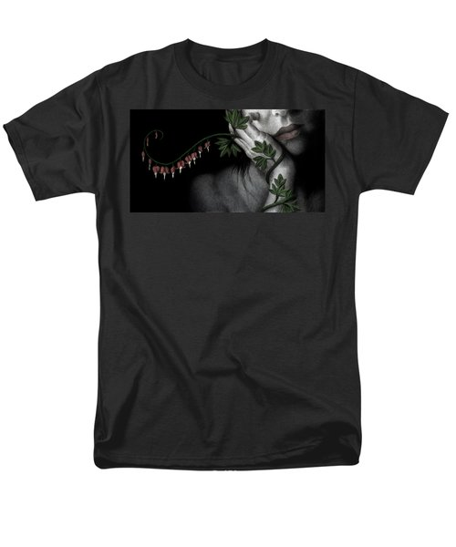 Men's T-Shirt  (Regular Fit) featuring the painting Melancholy by Pat Erickson