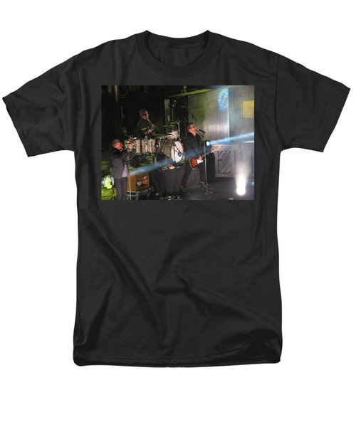 Men's T-Shirt  (Regular Fit) featuring the photograph Members  Of Newsong by Aaron Martens