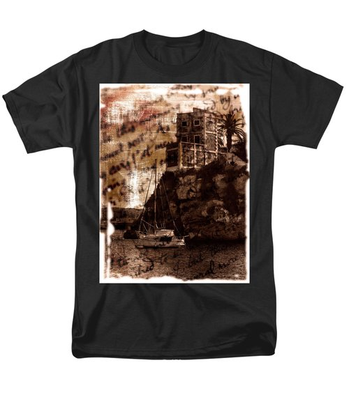Men's T-Shirt  (Regular Fit) featuring the photograph Memories By The Sea by Pedro Cardona