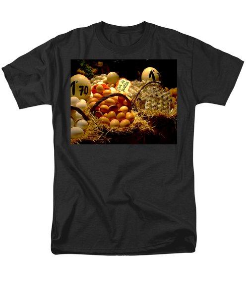 Men's T-Shirt  (Regular Fit) featuring the photograph Mercat De La Boqueria by Lisa Phillips