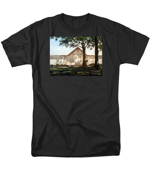 Men's T-Shirt  (Regular Fit) featuring the painting Merchants Hall by Lee Piper