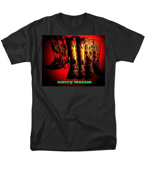 Merry Texmas Men's T-Shirt  (Regular Fit) by Chris Berry