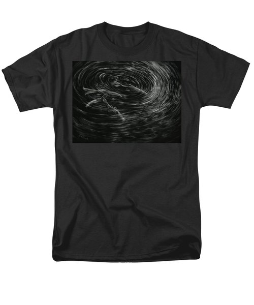 Men's T-Shirt  (Regular Fit) featuring the drawing Mesmerized by Sandra LaFaut