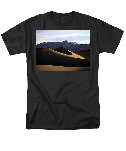 Men's T-Shirt  (Regular Fit) featuring the photograph Mesquite Dunes At Dawn by Joe Schofield