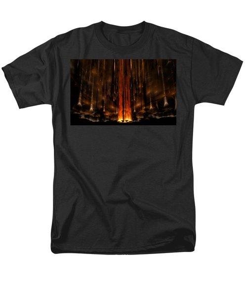 Meteors Men's T-Shirt  (Regular Fit) by GJ Blackman