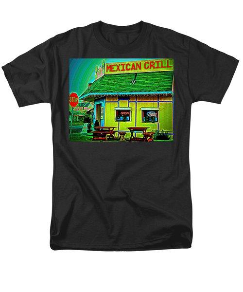 Mexican Grill Men's T-Shirt  (Regular Fit)