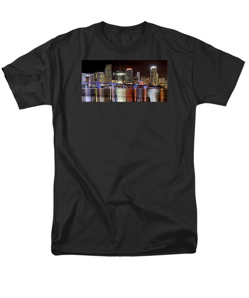 Miami Skyline Men's T-Shirt  (Regular Fit)