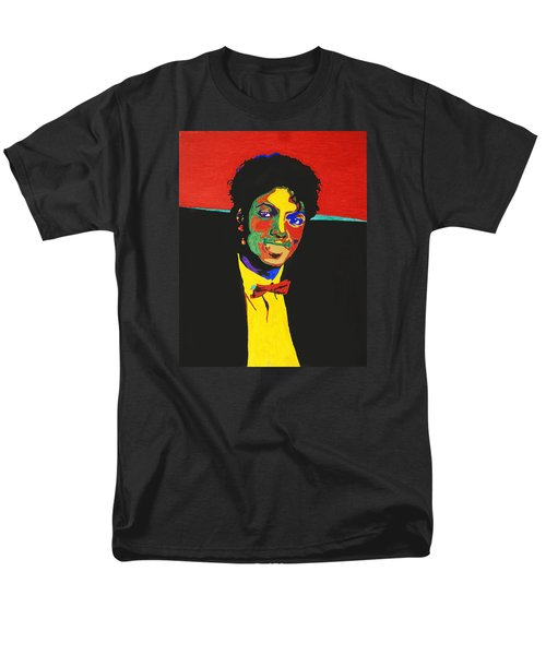 Michael Jackson Men's T-Shirt  (Regular Fit) by Stormm Bradshaw