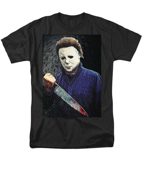 Michael Myers  Men's T-Shirt  (Regular Fit) by Taylan Apukovska