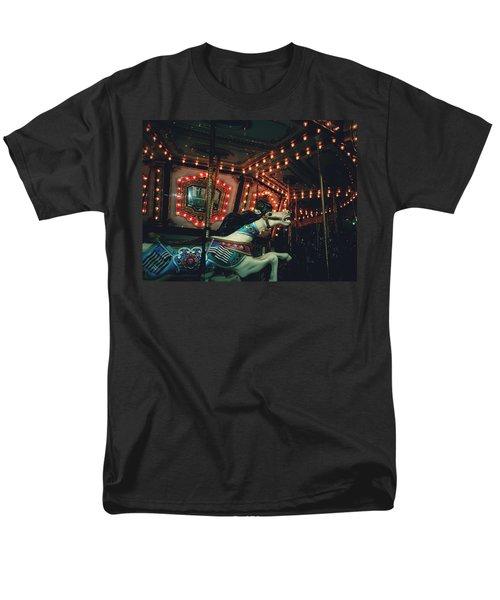 Men's T-Shirt  (Regular Fit) featuring the photograph Midnight Dream by Rachel Mirror