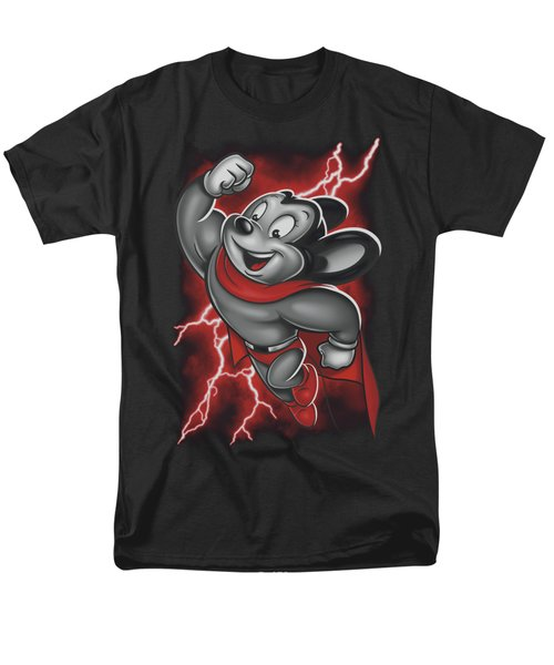 Mighty Mouse - Mighty Storm Men's T-Shirt  (Regular Fit) by Brand A