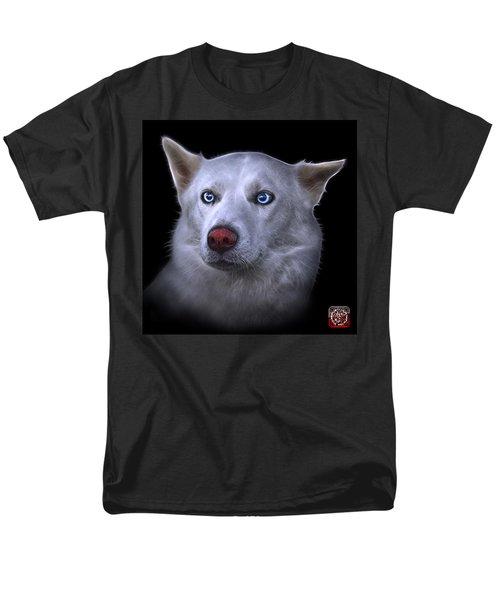 Mila - Siberian Husky - 2103 - Bb Men's T-Shirt  (Regular Fit) by James Ahn