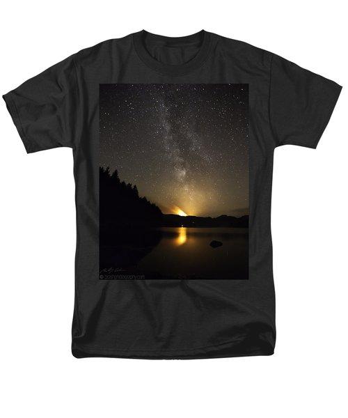 Milky Way At Crafnant 2 Men's T-Shirt  (Regular Fit) by Beverly Cash