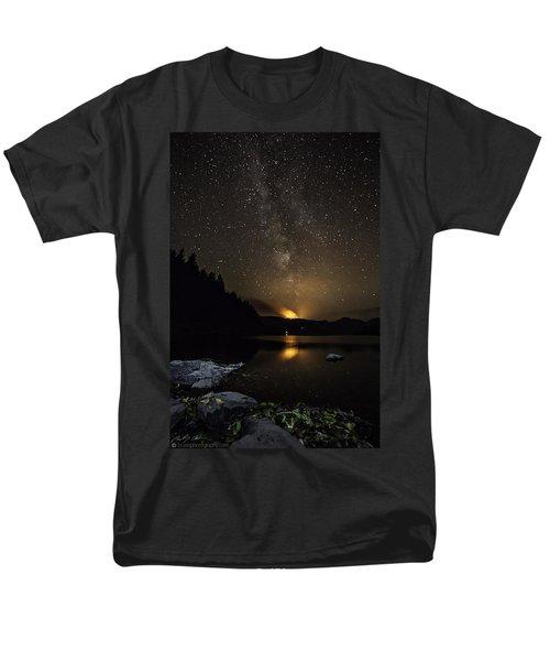 Milky Way At Crafnant Men's T-Shirt  (Regular Fit) by Beverly Cash
