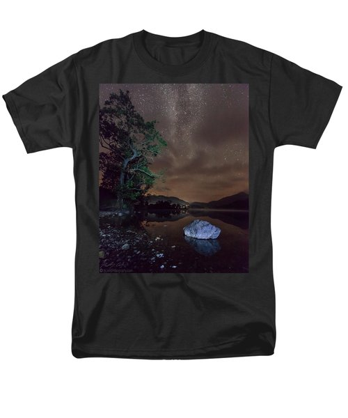 Milky Way At Gwenant Men's T-Shirt  (Regular Fit) by Beverly Cash