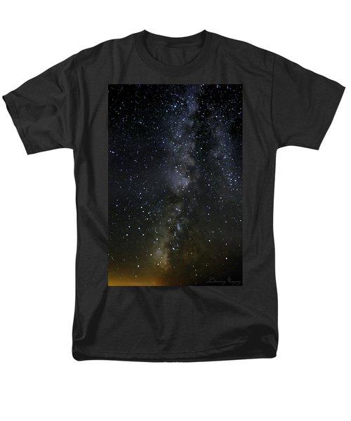 Milky Way Men's T-Shirt  (Regular Fit) by Marlo Horne