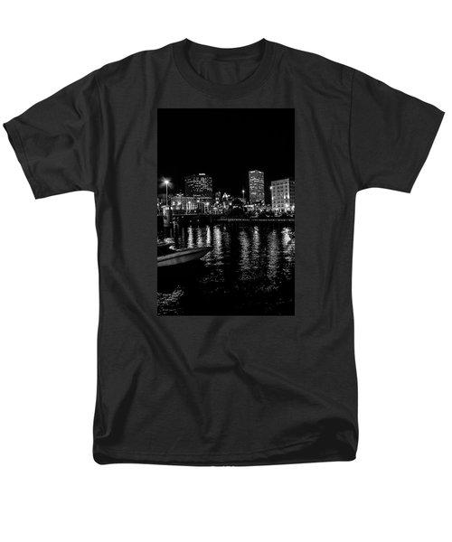 Milwaukee Downtown Third Ward Men's T-Shirt  (Regular Fit) by Susan  McMenamin