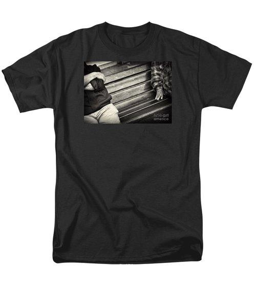 Mind The Gap Men's T-Shirt  (Regular Fit)
