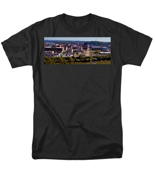 Mini Downtown Parkersburg Men's T-Shirt  (Regular Fit) by Jonny D
