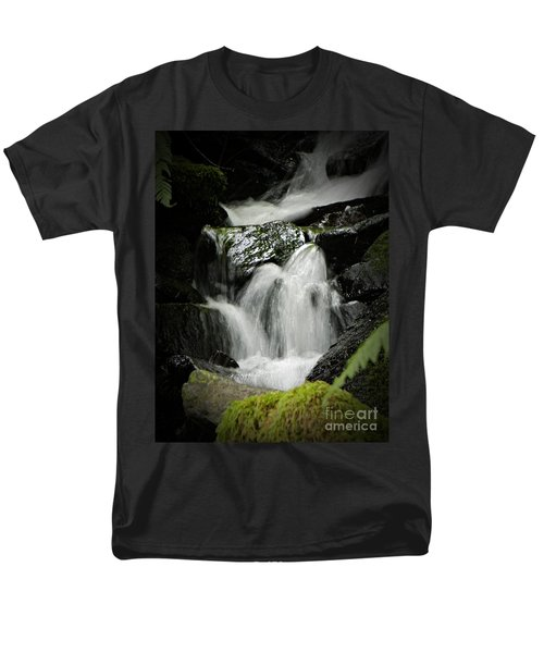 Mini Waterfall 2 Men's T-Shirt  (Regular Fit) by Chalet Roome-Rigdon