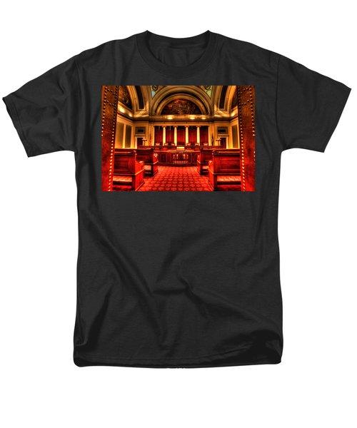 Minnesota Supreme Court Men's T-Shirt  (Regular Fit) by Amanda Stadther