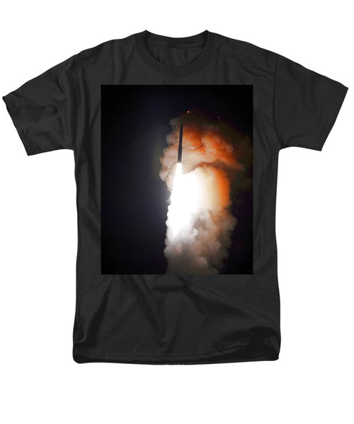 Men's T-Shirt  (Regular Fit) featuring the photograph Minuteman IIi Missile Test by Science Source