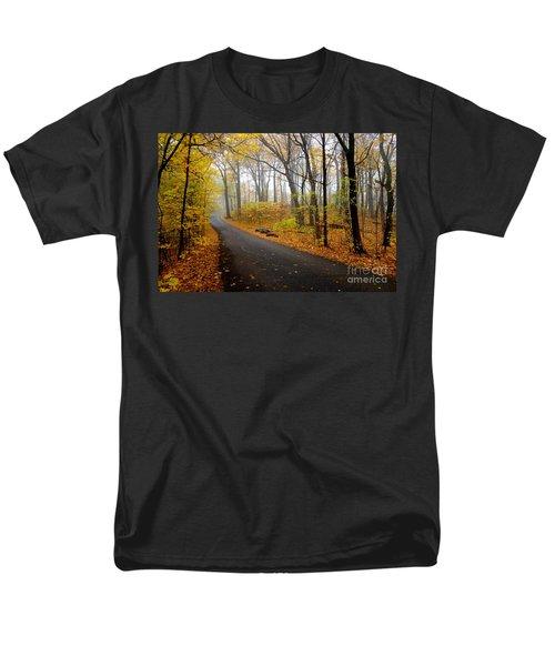 Misty Minnesota Mile Men's T-Shirt  (Regular Fit) by Jacqueline Athmann