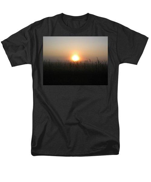 Misty Morning Men's T-Shirt  (Regular Fit) by James Petersen