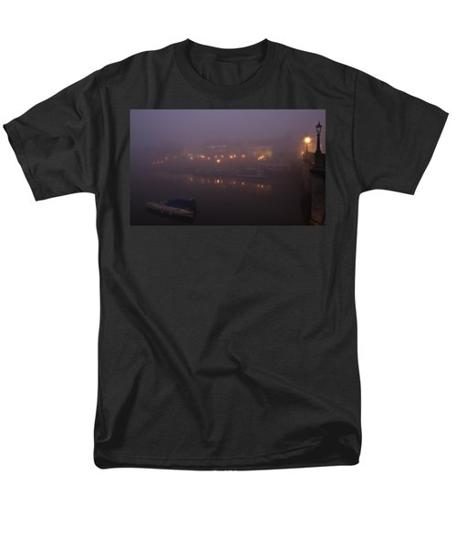 Misty Richmond Upon Thames Men's T-Shirt  (Regular Fit) by Maj Seda