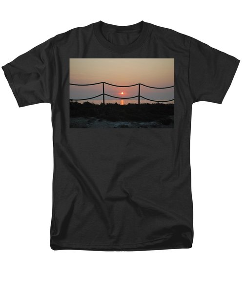Misty Sunset 1 Men's T-Shirt  (Regular Fit) by George Katechis