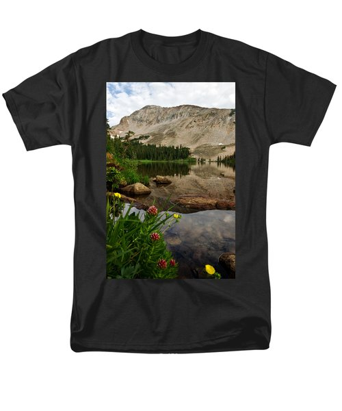 Mitchell Lake Reflections Men's T-Shirt  (Regular Fit) by Ronda Kimbrow