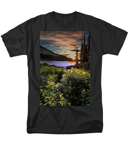 Mitchell Sunrise Men's T-Shirt  (Regular Fit) by Steven Reed