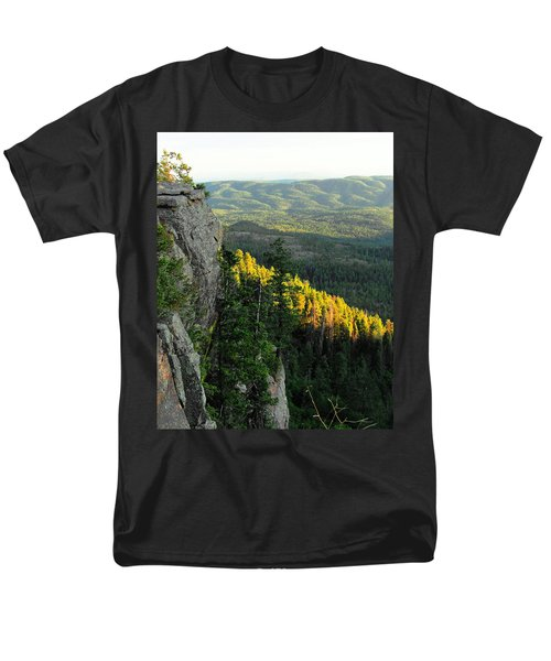 Mogollon Rim Men's T-Shirt  (Regular Fit) by Natalie Ortiz