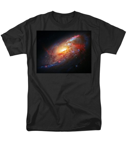 Molten Galaxy Men's T-Shirt  (Regular Fit) by Jennifer Rondinelli Reilly - Fine Art Photography